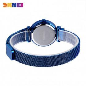SKMEI Jam Tangan Analog Wanita Strap Stainless Steel - Q022 - Blue - 2
