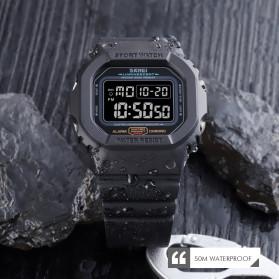 SKMEI Jam Tangan Digital Sport Pria - 1554 - Black - 6