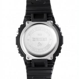 SKMEI Jam Tangan Smartwatch Pria Bluetooth Pedometer Heartrate - 1629 - Black - 4