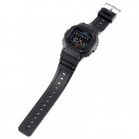 SKMEI Jam Tangan Smartwatch Pria Bluetooth Pedometer Heartrate - 1629 - Black - 6