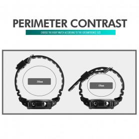 SKMEI Jam Tangan Smartwatch Pria Bluetooth Pedometer Heartrate - 1629 - Black - 11