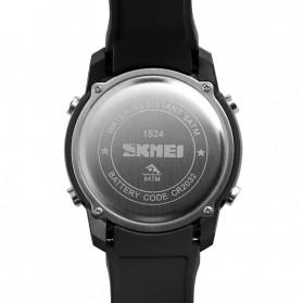 SKMEI Jam Tangan Digital Pria - 1524 - Black/Black - 4
