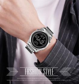 SKMEI Jam Tangan Digital Pria Elegan - 1611 - Silver - 7
