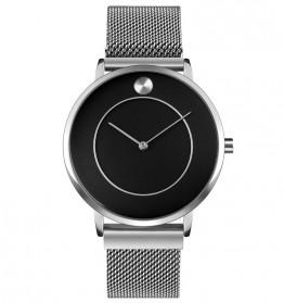 SKMEI Jam Tangan Analog Pria - 9197 - Silver Black