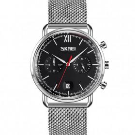 SKMEI Jam Tangan Analog Pria - 9206 - Silver Black
