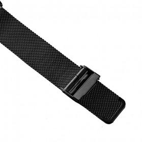 SKMEI Jam Tangan Analog Pria Stainless Steel Strap - 1634 - Black - 4