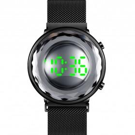 SKMEI Jam Tangan Digital Pria - 1640 - Black/Silver - 2