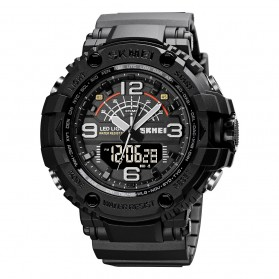 SKMEI Jam Tangan Analog Digital Pria - 1617 - Black