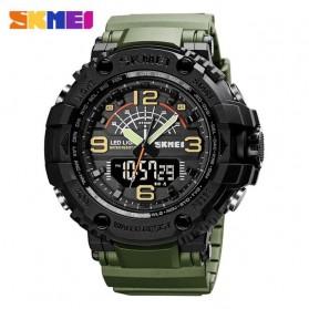 SKMEI Jam Tangan Analog Digital Pria - 1617 - Army Green