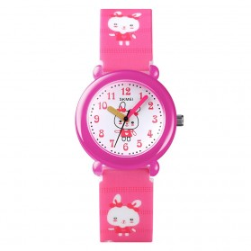 SKMEI Jam Tangan Anak - 1621 - Pink/Pink