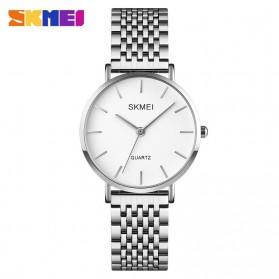 SKMEI Jam Tangan Analog Wanita Stainless Steel - Q027 - Silver