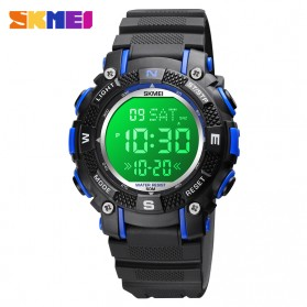 SKMEI Jam Tangan Anak Analog Digital - 1613 - Black