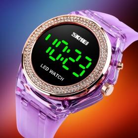 SKMEI Jam Tangan Digital Wanita - 1597 - Purple - 2