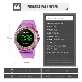 SKMEI Jam Tangan Digital Wanita - 1597 - Purple - 7