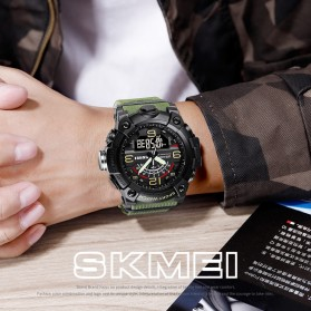 SKMEI Jam Tangan Analog Digital Pria - 1619 - Black - 3
