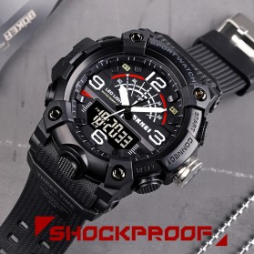 SKMEI Jam Tangan Analog Digital Pria - 1619 - Black - 4
