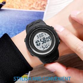 SKMEI Jam Tangan Digital Pria Body Temperature - 1681 - Black/Black - 7