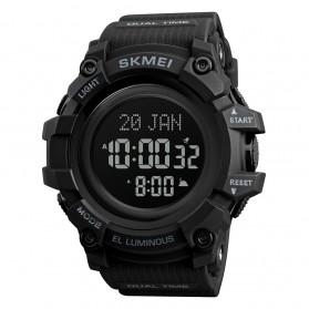 SKMEI Jam Tangan Digital Sporty Pria - 1680 - Black/Black