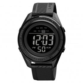 SKMEI Jam Tangan Digital Sporty Pria - 1638 - Black/Black
