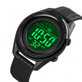 SKMEI Jam Tangan Digital Sporty Pria - 1638 - Black/Black - 2