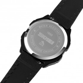 SKMEI Jam Tangan Digital Pria Stainless Steel  Strap - 1650 - Black - 9