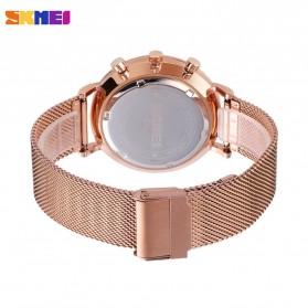SKMEI Jam Tangan Analog Pria Strap Stainless Steel - 9231 - Rose Gold - 3