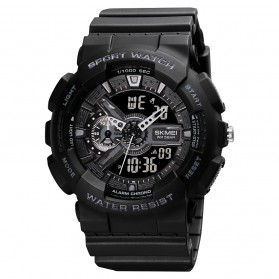 SKMEI Jam Tangan Analog Digital Sporty Pria - 1688 - Black