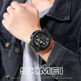 SKMEI Jam Tangan Analog Digital Pria - 1637 - Black - 2