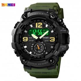 SKMEI Jam Tangan Analog Digital Pria - 1637 - Army Green