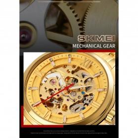 SKMEI Jam Tangan Mechanical Pria Automatic Movement - 9222 - Golden - 9