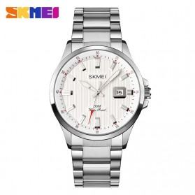 SKMEI Jam Tangan Analog Pria Stainless Steel - 1654 - Silver