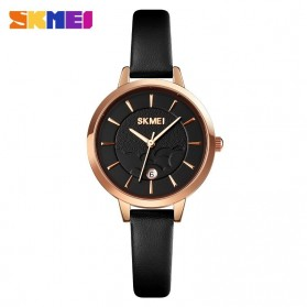SKMEI Jam Tangan Wanita Analog Elegan - 1705 - Rose Gold/Black
