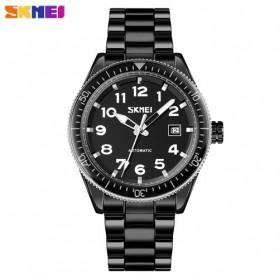 SKMEI Jam Tangan Analog Pria Strap Stainless Steel - 9232 - Black/Black
