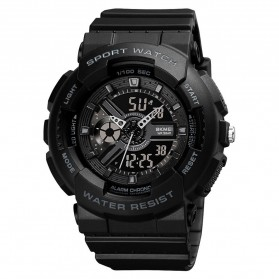 SKMEI Jam Tangan Analog Digital Sporty Pria - 1689 - Black