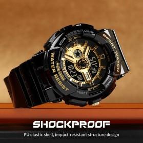 SKMEI Jam Tangan Analog Digital Sporty Pria - 1689 - Black - 3