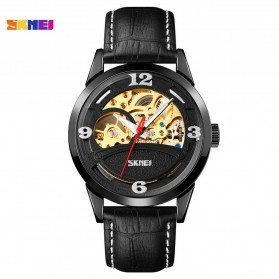 SKMEI Jam Tangan Mechanical Pria Automatic Movement - 9226 - Black - 1