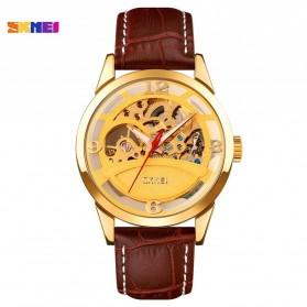 SKMEI Jam Tangan Mechanical Pria Automatic Movement - 9226 - Golden