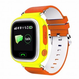 SKMEI Jam Tangan Anak Pintar Smart Phone Watch Wi-Fi - Q90PRO - Yellow