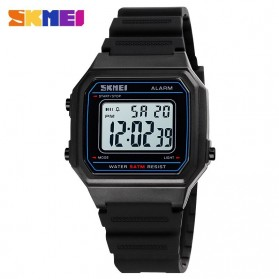SKMEI Jam Tangan Digital Pria - 1698 - Black White