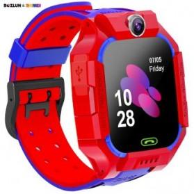 SKMEI BOZLUN Jam Tangan Pintar Anak Smart Phone Watch - W39 - Red - 3