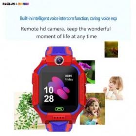 SKMEI BOZLUN Jam Tangan Pintar Anak Smart Phone Watch - W39 - Red - 4