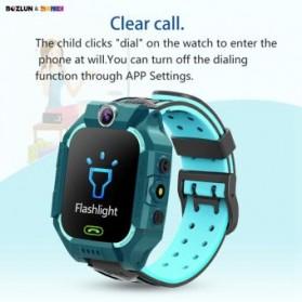 SKMEI BOZLUN Jam Tangan Pintar Anak Smart Phone Watch - W39 - Green - 4
