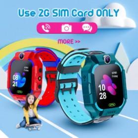 SKMEI BOZLUN Jam Tangan Pintar Anak Smart Phone Watch - W39 - Green - 7