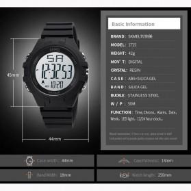 SKMEI Jam Tangan Digital Pria Army Sport - 1715 - Black/Black - 9