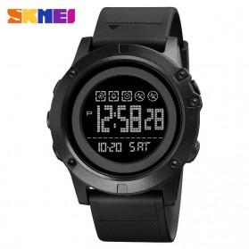 SKMEI Jam Tangan Digital Adventure Pria - 1727 - Black/Black - 1
