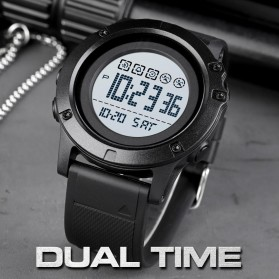 SKMEI Jam Tangan Digital Adventure Pria - 1727 - Black/Black - 4