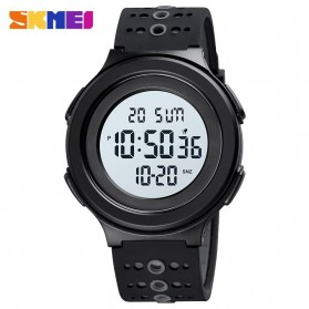 SKMEI Jam Tangan Digital Adventure Pria - 1733 - Black White