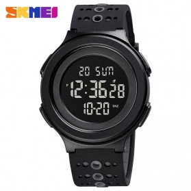 SKMEI Jam Tangan Digital Adventure Pria - 1733 - Black/Black - 1