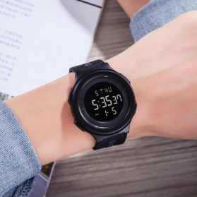 SKMEI Jam Tangan Digital Adventure Pria - 1733 - Black/Black - 7