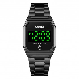 SKMEI Jam Tangan Digital Pria LED Touch Screen - 1679 - Black